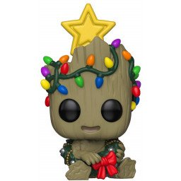 FUNKOP POP MARVEL HOLIDAY GROOT