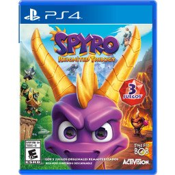JUEGO PS4: SPYRO REIGNITED TRILOGY