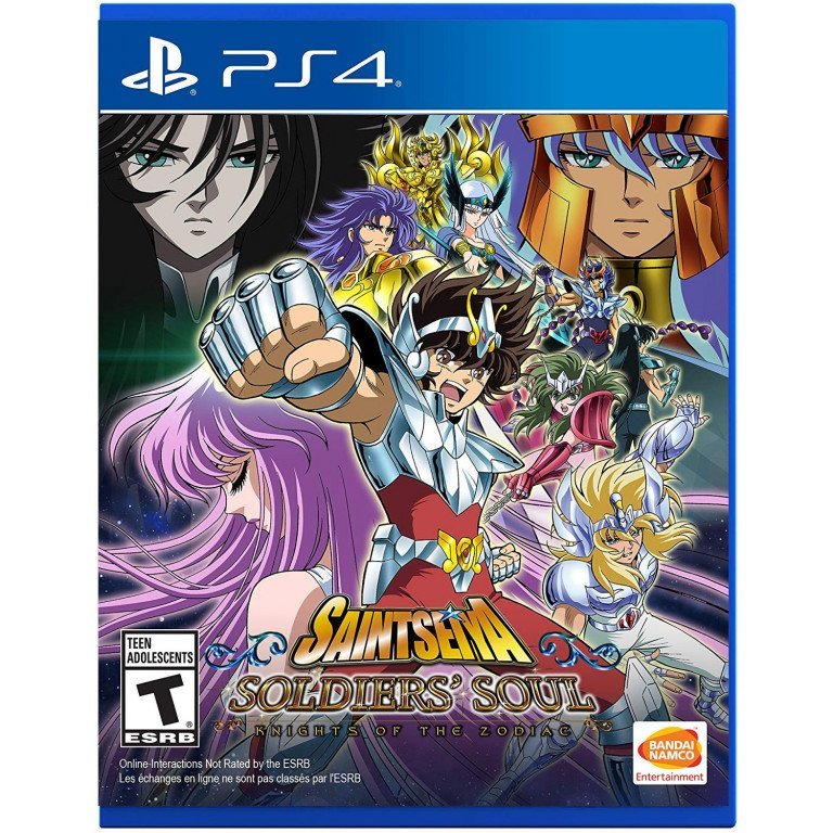 Saint Seiya Soldiers Soul - PS4