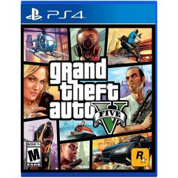 JUEGO PLAYSTATION 4: GRAND THEFT AUTO V