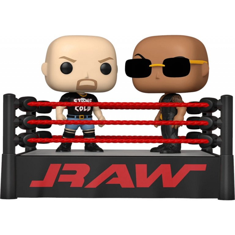 Funko Pop - WWE - Stone Cold - Steve Austin and The Rock