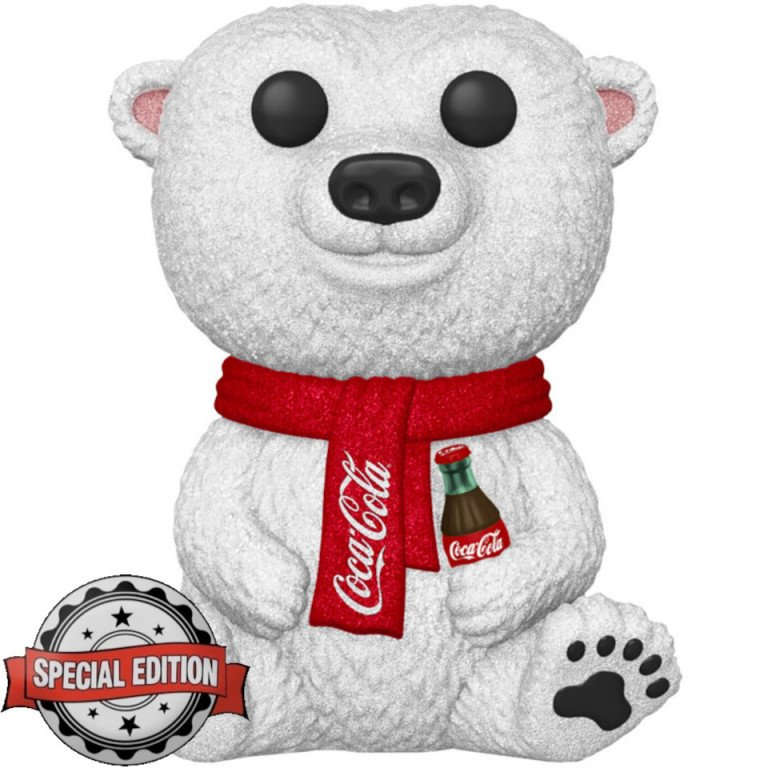 Funko Pop - Icons - Coca Cola - Polar Bear - Special Edition - Diamon