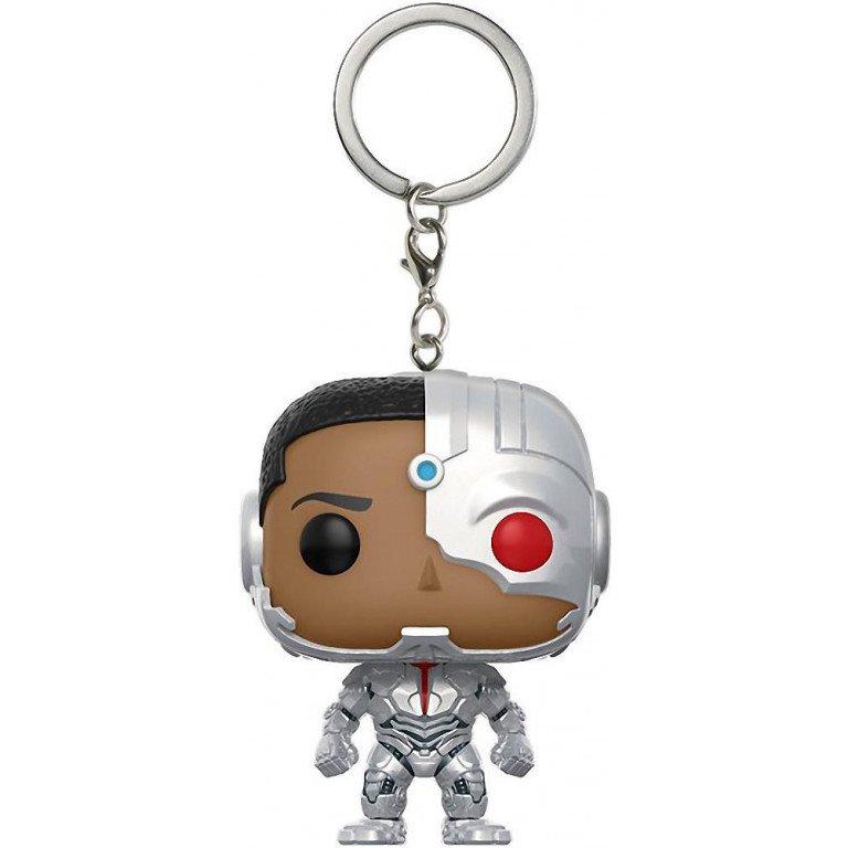 Funko Pop - Keychain - Justice League - Cyborg
