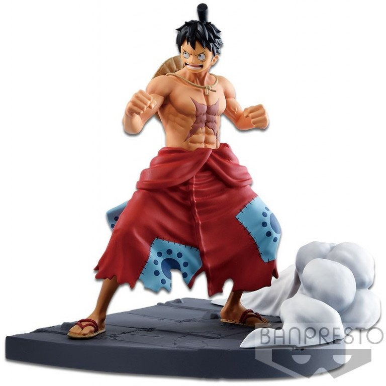 Banpresto - One Piece - Log File Selection - Luffy