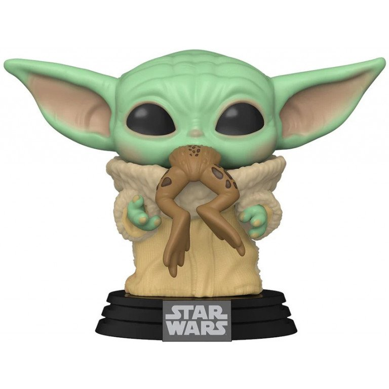 Funko Pop - Star Wars - Mandalorian - The child with Frog - Yoda