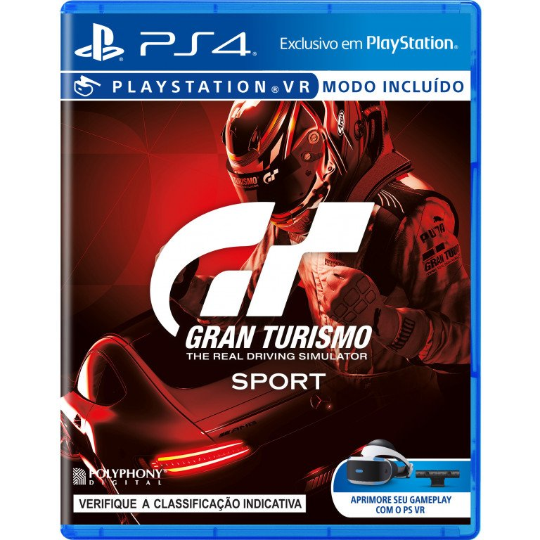 GT Gran Turismo Sport - PS4