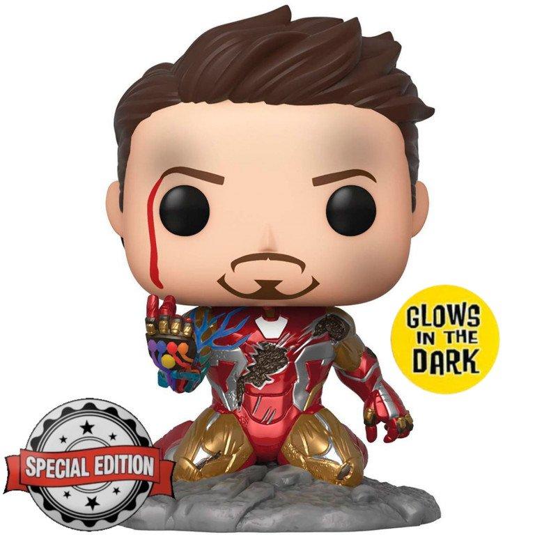 Funko POP - Marvel - Endgame - Iron Man - Glows in the Dark (special edition)