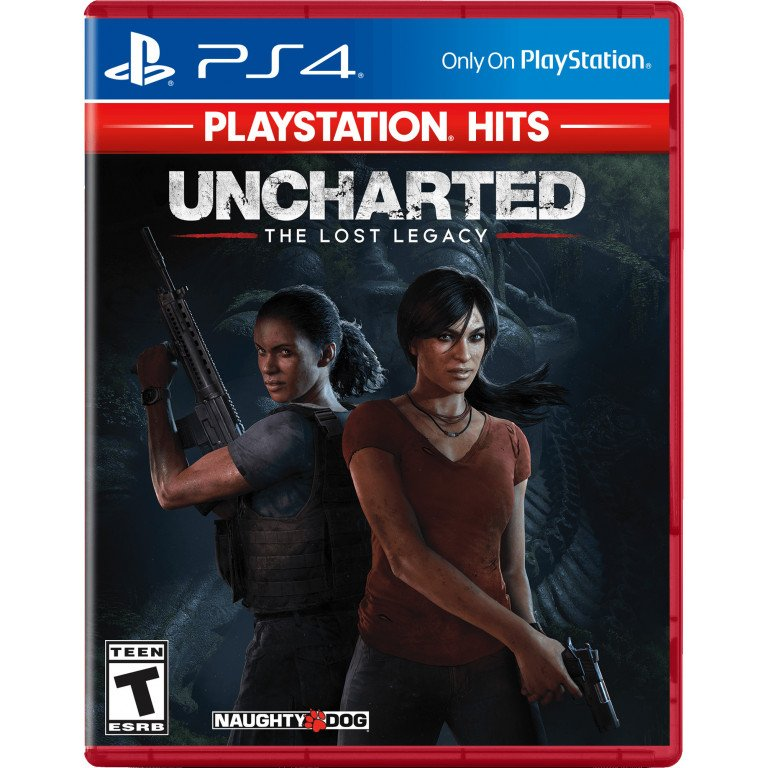 Uncharted - The Lost Legacy - PS4 Hits