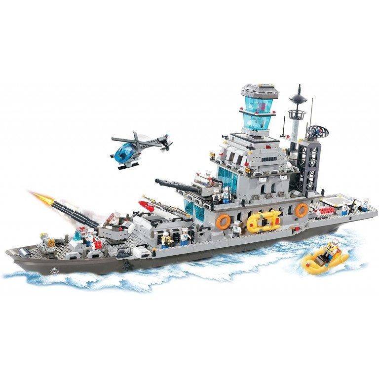 Brictek - Crucero de la marina 1745 piezas - Modelo 15403