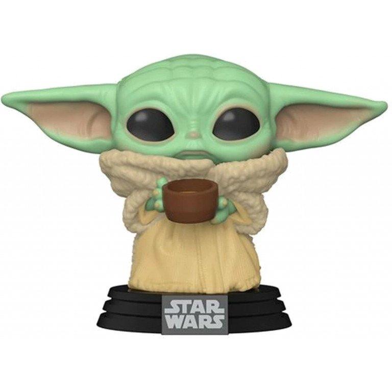 Funko Pop - Star Wars - Mandalorian - The child with cup - Yoda
