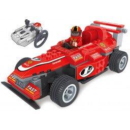 BLOQUES BRICTEK RC ACTION RED RACING CAR 205 PIEZAS