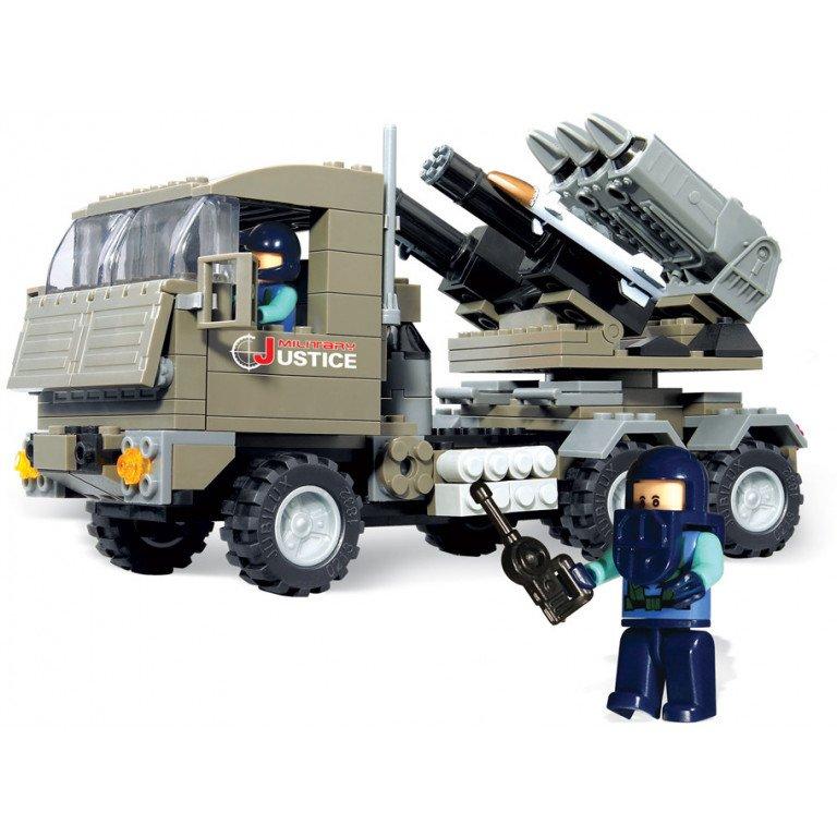Brictek - Army -  Lanzacohetes Justice - 226 piezas - Modelo 15017