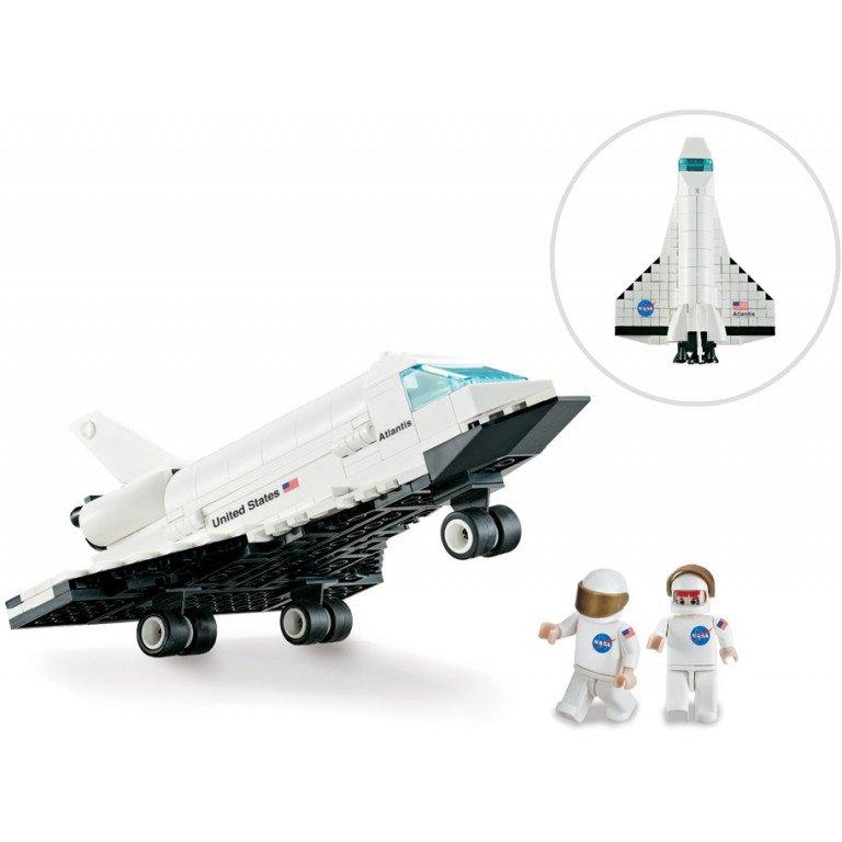 Brictek - Space - Nasa Orbiter - 264 piezas - Modelo 17019