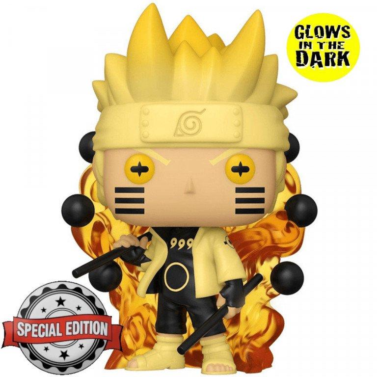 Funko Pop - Animation - Naruto - Naruto Six Path Sage (glows on the dark)