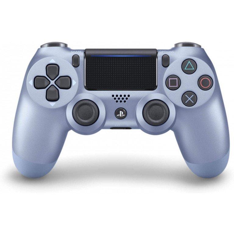 Mando Dualshock 4 inalambrico en color (azul titanio) para PS4