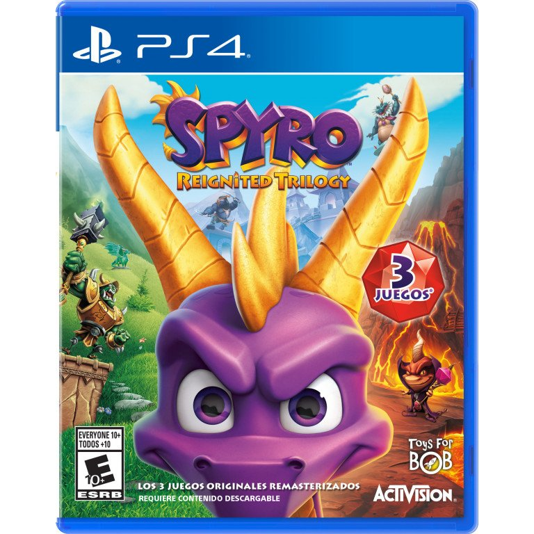 Spyro - Reignited trilogy - PS4