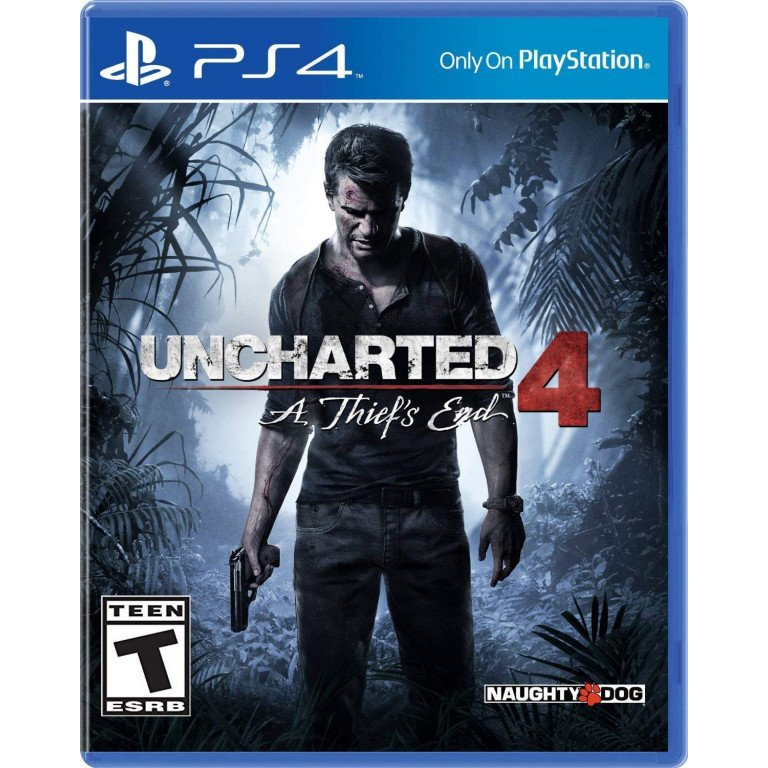 Uncharted 4: A Thied's End - Playstation 4