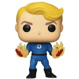 FUNKO POP FANTASTIC 4 HUMAN TORCH