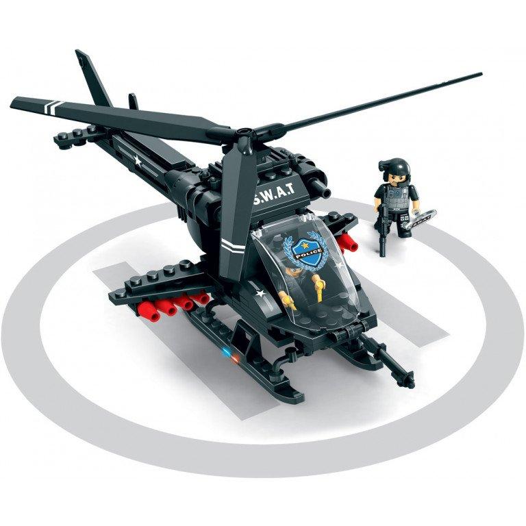 Brictek - SWAT - Helicóptero 225 piezas - Modelo 11102