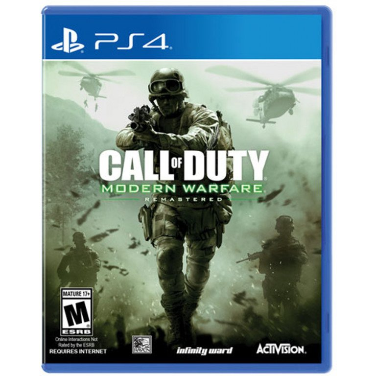 Call of Duty - Modern Warfare - Remastered - PS4