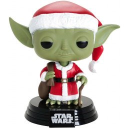 FUNKO POP STAR WARS YODA HOLIDAY