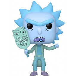 FUNKO POP RICK AND MORTY HOLOGRAM CLONE