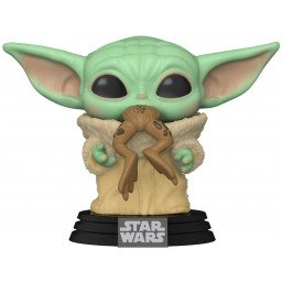 FUNKO POP STAR WARS MANDALORIAN THE CHILD WITH FROG