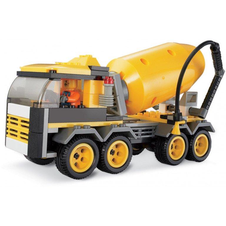 Brictek - Construcción - Camión Hormigonera - 189 piezas - Modelo 14003