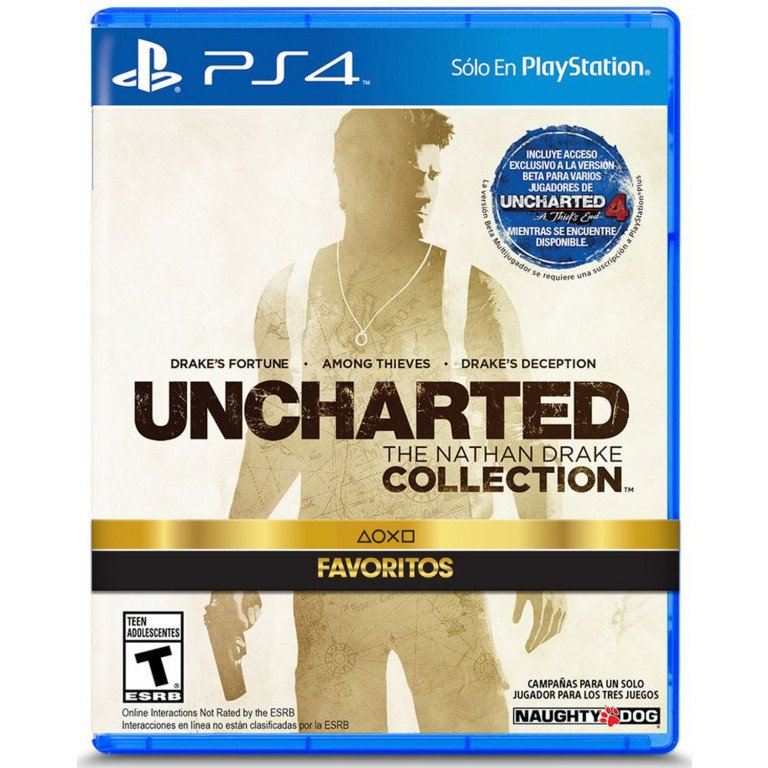 Uncharted Collection - Playstation 4