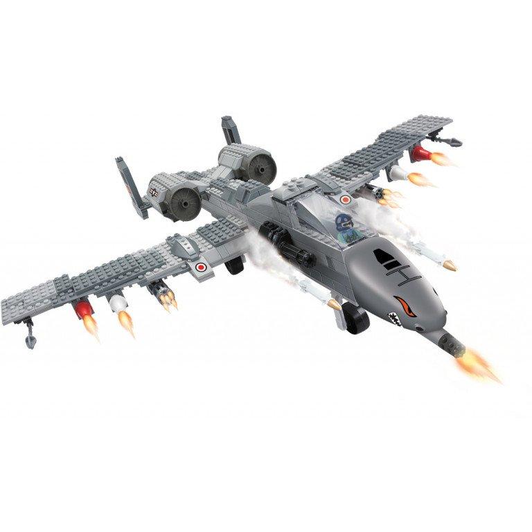 Brictek - Air Force - Caza de combate 126 piezas - Modelo 25714