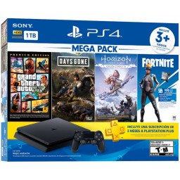 CONSOLA SONY PS4 MEGA PACK 6