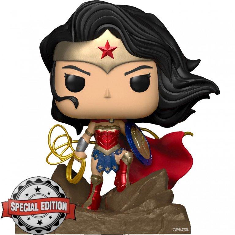 Funko Pop - Heroes - Wonder Woman - Deluxe - Special Edition