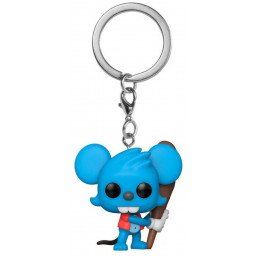 FUNKO POP KEYCHAIN THE SIMPSONS ITCHY