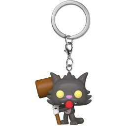 FUNKO POP KEYCHAIN THE SIMPSONS SCRATCHY