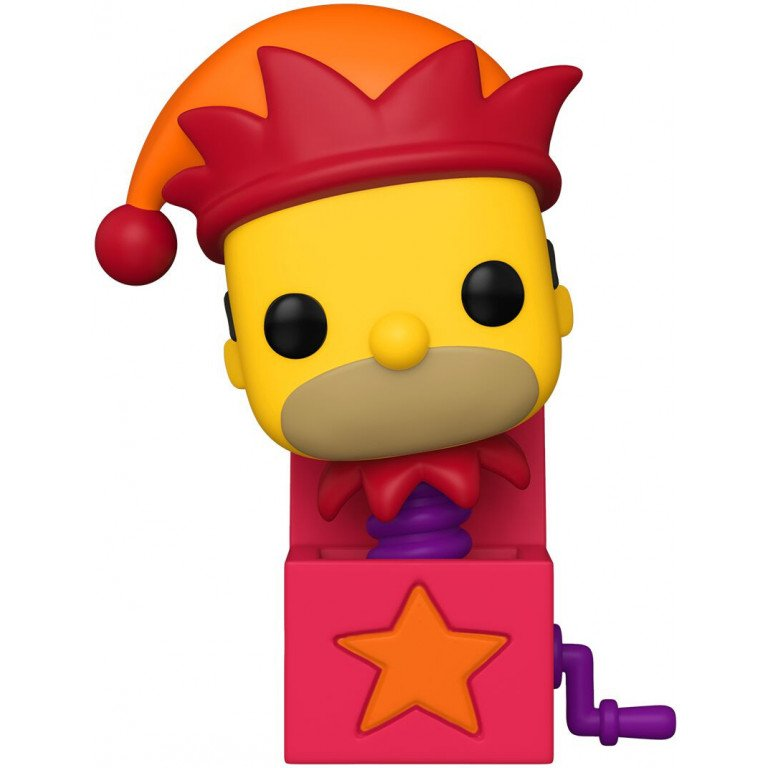 Funko Pop - Television - The Simpsons - Jack in the box Homer