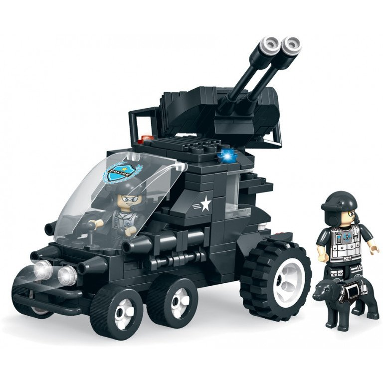 Brictek - SWAT - Vehículo de asalto (1) 224 piezas - Modelo 11105