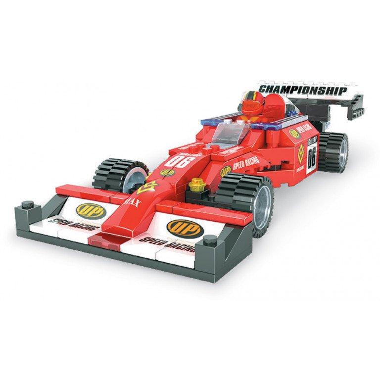 Brictek - Racing - Coche de carreras - Modelo 21501