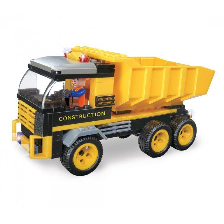Brictek - Construcción - Camión Volquete - 142 piezas - Modelo 14006