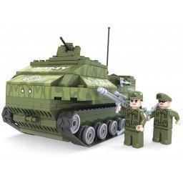 BLOQUES BRICTEK ARMY TANQUE CON BAZUCA 199 PIEZAS