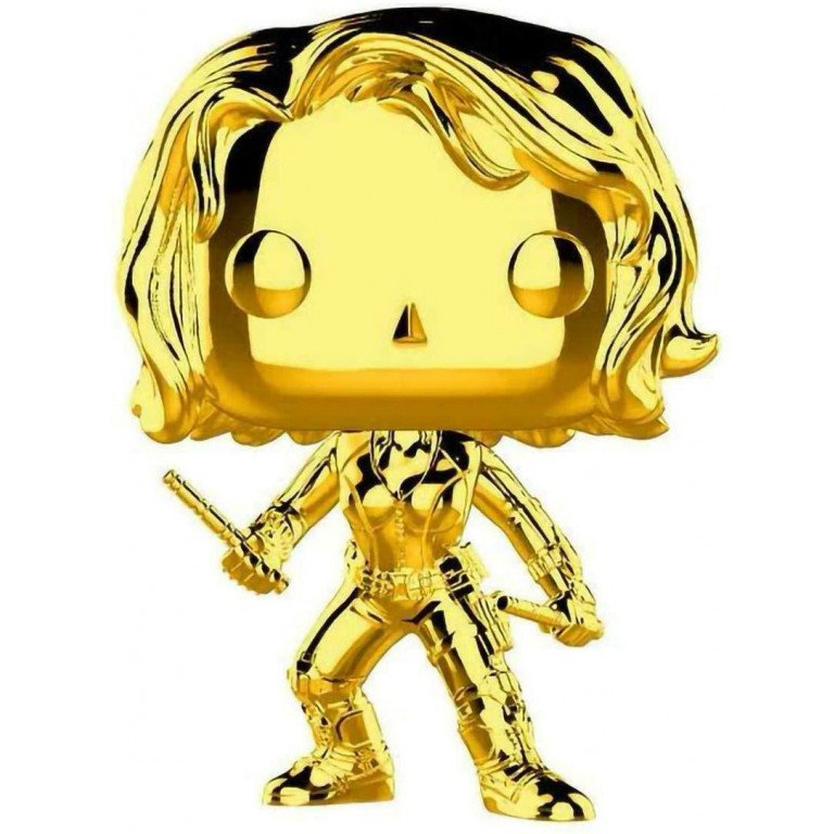 Funko POP - Marvel - Gold - Black Widow