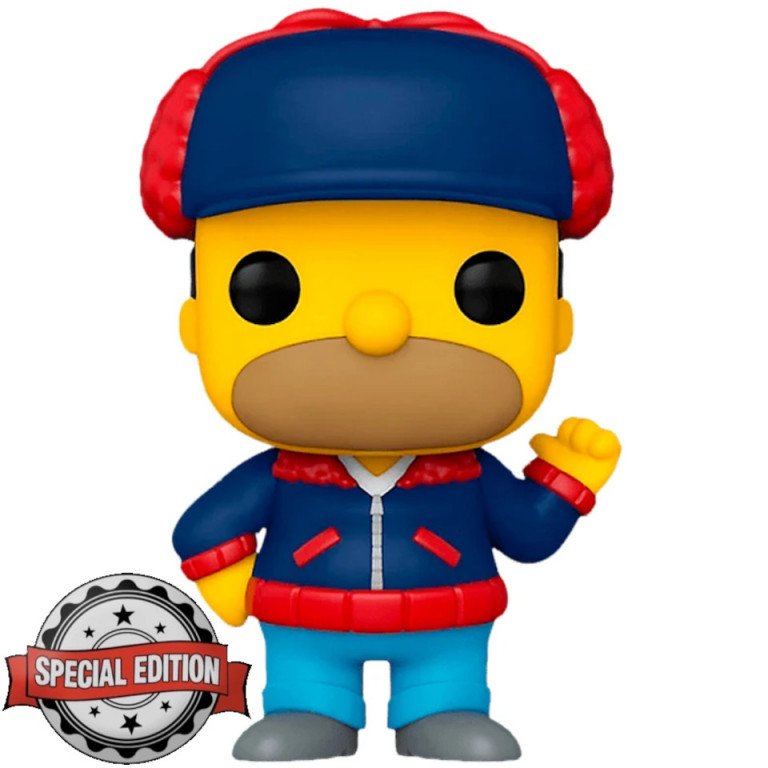 Funko Pop - Television - The Simpsons - Mr Plow (special edition)