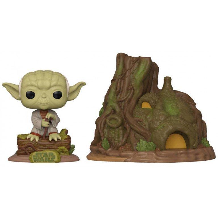 Funko Pop - Star Wars - Dagobah Yoda with Hut
