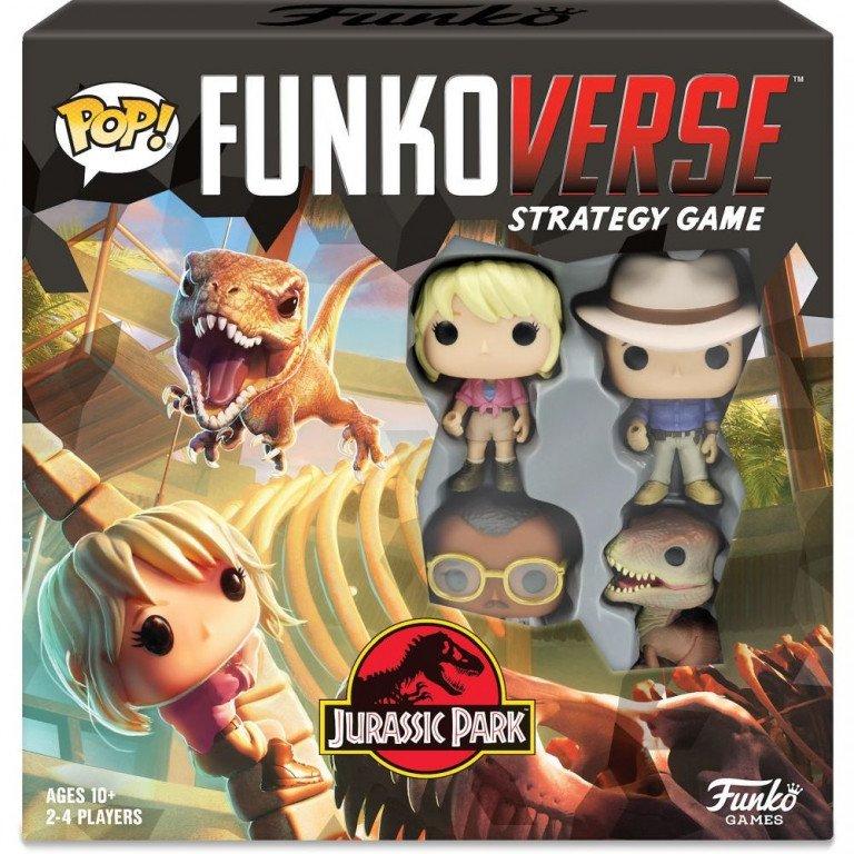 Funko Pop - FunkoVerse - Jurassic Park 100 - Juego de estrategia