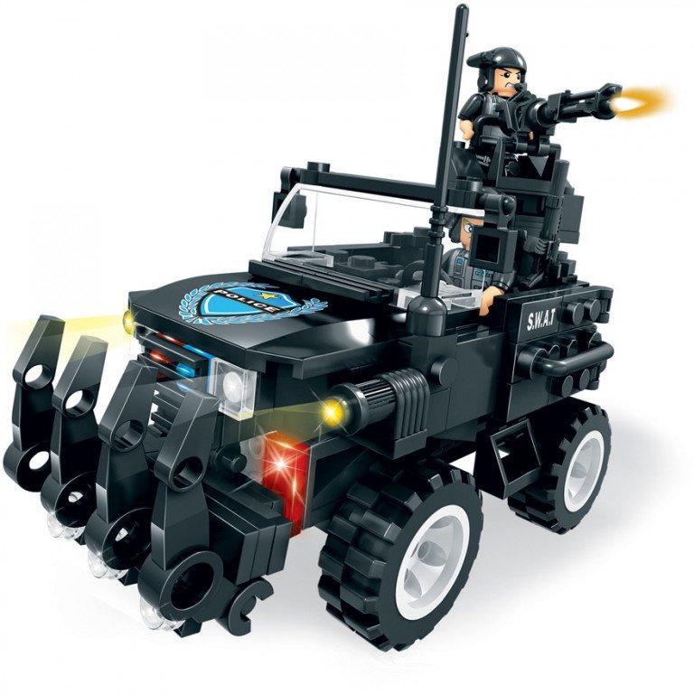 Brictek - SWAT - Jeep 238 piezas - Modelo 11114