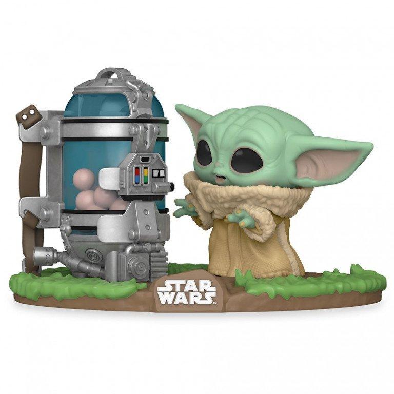 Funko Pop - Star Wars - Mandalorian - Baby Yoda con egg canister - Yoda