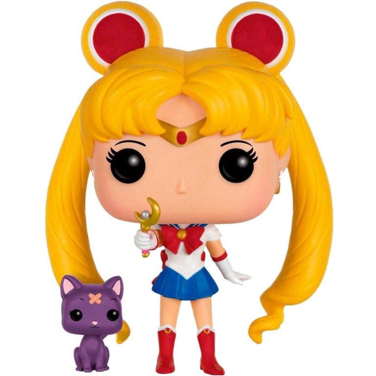 Funko Pop - Animation - Sailor Moon - Super Sailor with Luna (special edition)