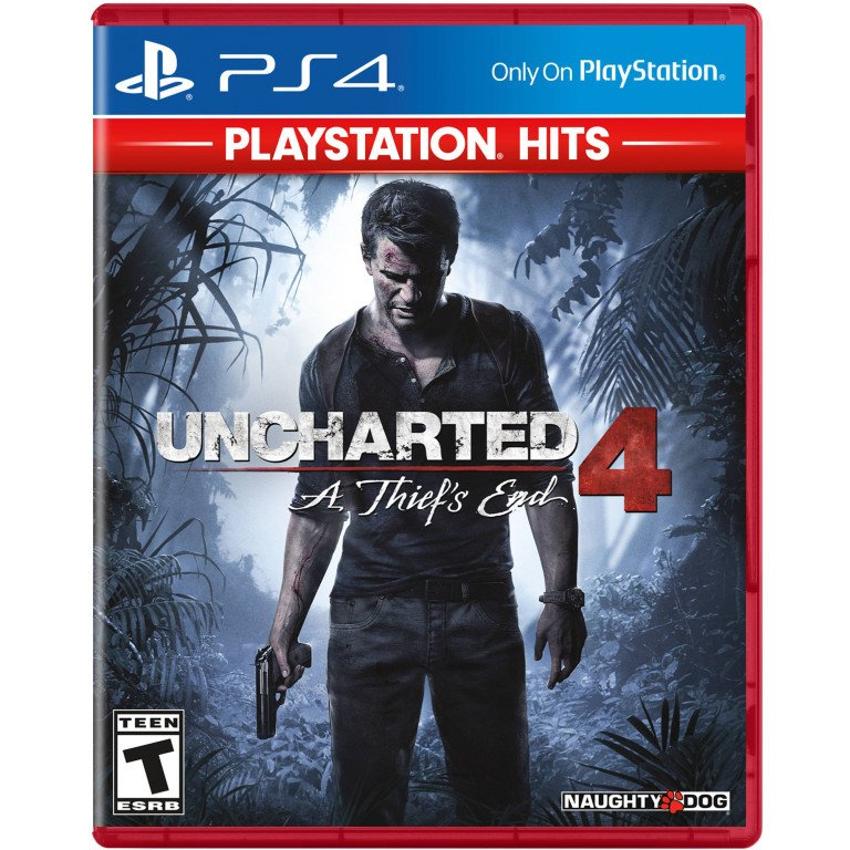 Uncharted 4: A Thied's End - Playstation 4 Hits