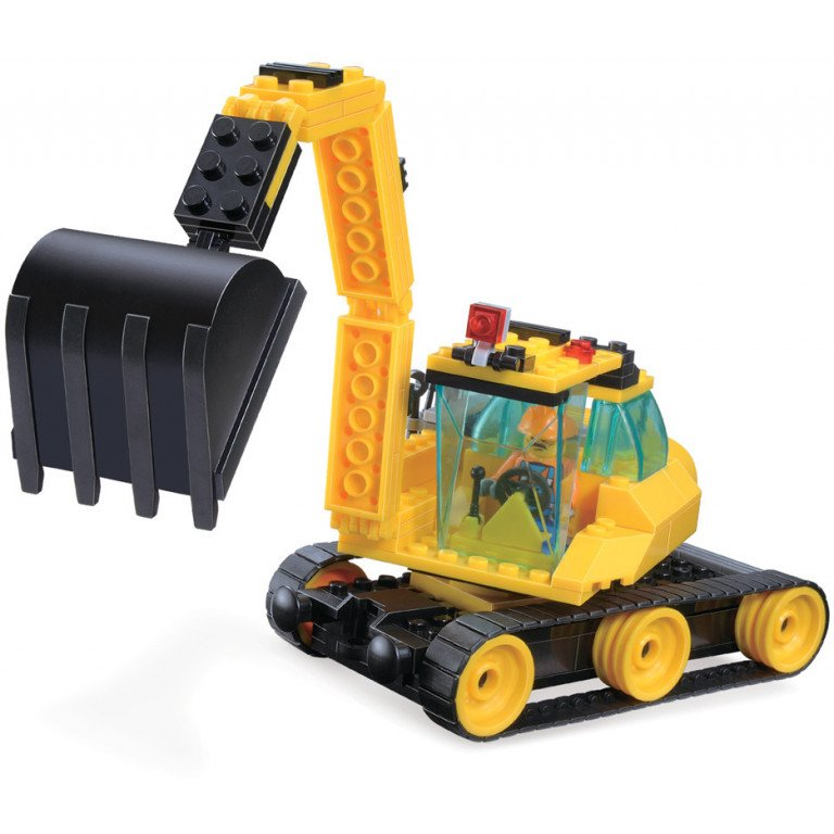 Brictek - Construcción - Excavadora - 151 piezas - Modelo 14007