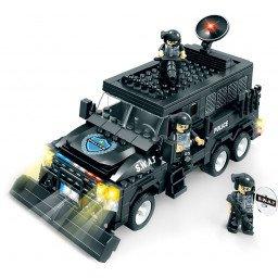 BLOQUES BRICTEK SWAT TRANSPORTE DE PERSONAL ARMADO 455 PIEZAS