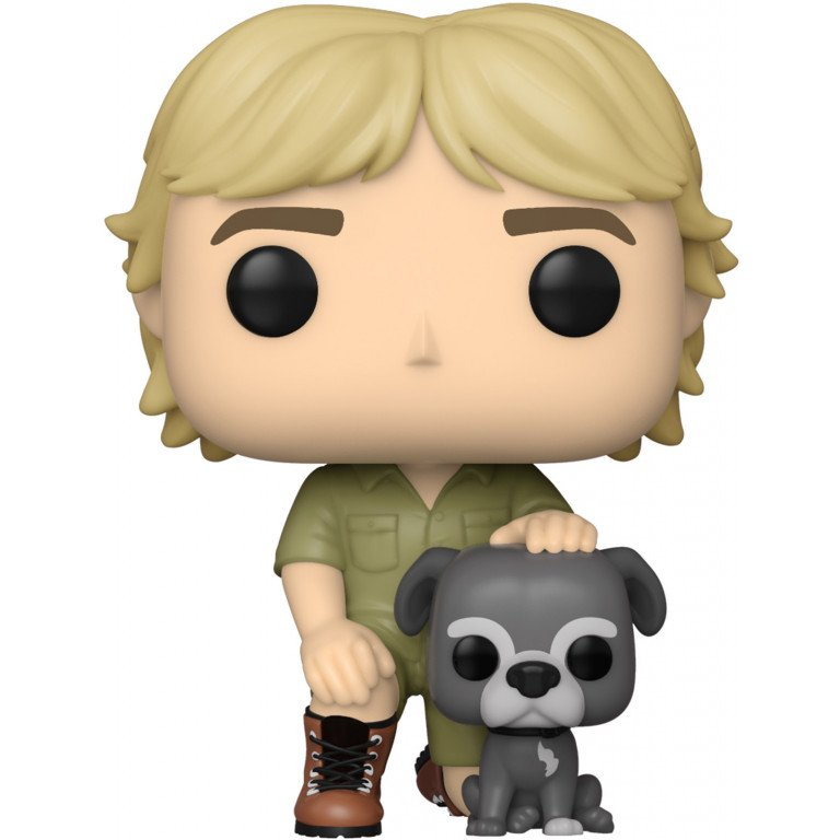 Funko Pop - Television - Steve Irwin with Sui